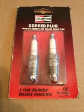 2 Champion Premium Spark Plugs RV15YC4 # 18