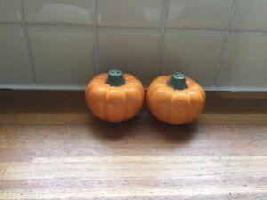 Pumpkin Salt And Pepper.Halloween.