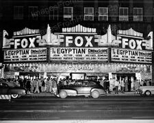 8x10 Print Jean Simmons Gene Tierney Marquee The Egyptian Fox Theater 1954 #FT1