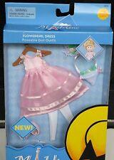 """New Madeline Doll Outfit 8"""" Flower Girl Ballet Ballerina Basket Flowers Ginny"""