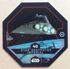 STAR WARS ROGUE ONE Jeton 40 STAR DESTROYER IMPÉRIAL Cosmic Shells E.Leclerc