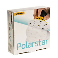"Mirka FA61105092 Polarstar  6"" 15H Film-Backed Vacuum Grip Disc 1000 Grit"