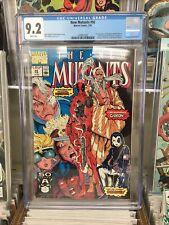 The New Mutants #98. 1st Deadpool, Domino.  CGC 9.2 White Pages Marvel MCU Xmen