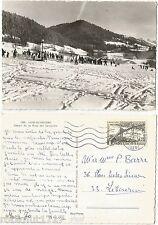 CPSM postcard sport ski Départ Piste des Benjamins LANS EN VERCORS Isère [494 A]