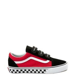 Vans // Old Skool V - OTW Strapped [Black/Racing Red] #00497355 (M5/W6.5)