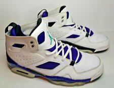 2013 Nike Air Jordan Grape Flight Club 91 Basketball Shoes 555475-108 Men's 9.5