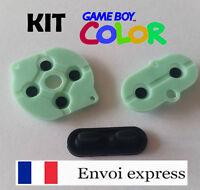 Kit Contact caoutchouc conducteur Game Boy Color neuf [Boutons Gameboy GBC] FR