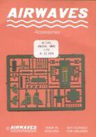Airwaves 1/72 KAWASAKI ki-61 HIEN Grabado HASEGAWA kit #aec72041