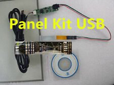 """NEW 15"""" 4 Wire Resistive Touch Screen 346X217mm USB Driver Kit DIY LCD Monitor"""