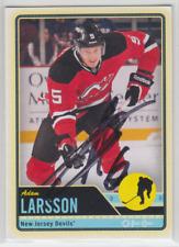 Autographed 12/13 OPC Adam Larsson - Devils