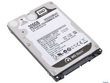 "WD Scorpio Black 320GB 2.5"" Laptop Hard Drive SATA II 7200RPM WD3200BEKT"