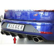 Seat Leon Cupra 5F ST Kombi Facelift Diffusor Heckeinsatz von Rieger