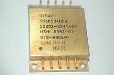 NATIONAL 583R504H04 Gold Mil Spec Integrated Circuit New Quantity-1