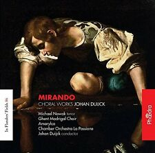 Michael Nowak and Ghent Madrigal Choir - Duijck: Mirando (Choral Works) [CD]