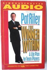 Pat Riley The Winner Within Audio Book Cassette 2 Tapes Life Plan Team Players
