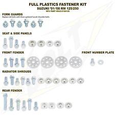 Suzuki  RMZ250 10-16 / 450 08-16 FULL NUT & BOLT FASTENER SET FOR PLASTICS KIT