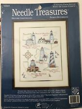 Needle Treasures Counted Cross Stitch Kit Historic Lighthouses JCA Inc.