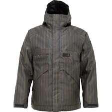 Burton Poacher Snowboard Jacket (M) Quarry Chalk Stripe