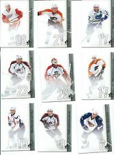 2010-11 SP AUTHENTIC HOCKEY CARDS COMPLETE YOUR SET YOU PICK 20 CARDS STARS INC