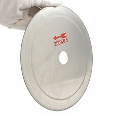 "200mm 8"" inch Diamond Super Thin 0.5mm jewelry lapidary  saw blade cutting disc"