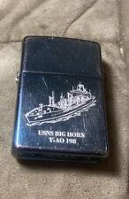 USS Bighorn T-AO 198 Zippo 2012
