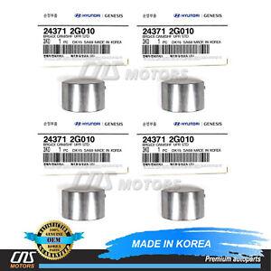 GENUINE Camshaft Bearings 4PACK Upper for 08-15 Hyundai Kia 2.0L 2.4L 243712G010