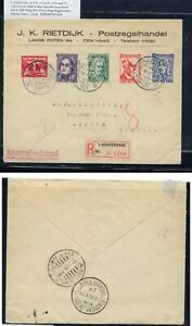 Netherlands  Indies registered  cover  to  Greece  1931