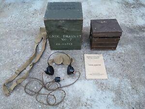 WAVEMETER ANGLAIS WW2 RADIO FFI