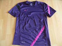 NIKE Sportshirt Dri-Fit lila pink Gr. S  615