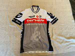 CASTELLI Cycling Jersey BRAND NEW ORIGINAL CERVELO SHORT SLEEVES SIZE XL Unisex