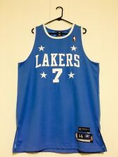 Los Angeles Lakers Lamar Odom Hardwood Classic Authentic Jersey Size 44 Nwt Rare