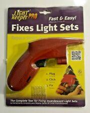 Light Keeper PRO - Christmas Light Tester - Fix Incandescent Light Sets Fast NEW