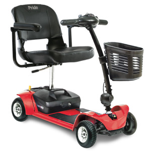 New Pride Mobility Go-Go LX with CTS Travel Scooter MODEL# S54LX