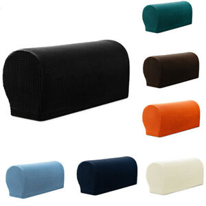 2pcs Furniture Protector Sofa Armrest Cover Armchair Slipcover Slipcover
