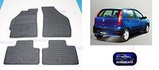 Tappetini auto in Gomma su misura – Tappeti Auto Set 4 PZ. Fiat Punto 99>