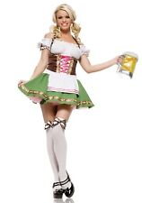 GERMAN BEER GIRL COSTUME SIZE SMALL (missing stockings)