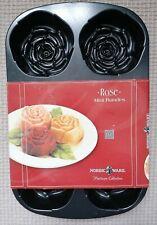 Nordic Ware MINI Rose Bundt Cake Shape Pan Birthday Platinum Collection Baking