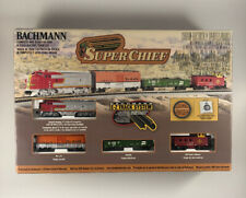 BACHMANN 24021 N SCALE F7A SUPER CHIEF TRAIN SET
