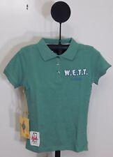 WETT Dry Goods Green Laguna Beach Patrol Juniors Short Sleeve Polo Top - Size XS
