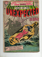 Tales of the Unexpected #6 1956 1ST SILVER AGE ISSUE VG- 4.0 Girl In Bottle Covr