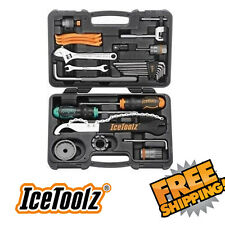 ICETOOLZ Cycle TOOL KIT Bicycle Bike Cassette Bottom Bracket Crank Chain 82F4