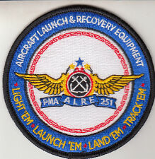 AIRCRAFT LAUNCH & RECOVERY EQUIPMENT SHOULDER PATCH