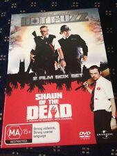 Hot Fuzz / Shaun Of The Dead (DVD, 2008, 2-Disc Set) - Simon Pegg