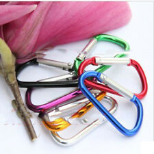 Wholesale 10 X Aluminium Carabiner Camping Hiking Hook Keychain Practical EP