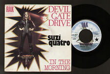"7"" SUZI QUATRO DEVIL GATE DRIVE / IN THE MORNING MADE IN FRANCE 1974 GLAM ROCK"