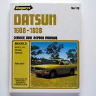 Datsun 160B, 180B 1972-77 Workshop Manual