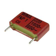 5 WIMA FKP1 Polypropylen Folien-Kondensator FKP 1 1600V 10% 220pF 15mm 024081