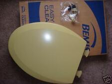 Bemis Harvest Gold elongated toilet seat 1200 slow T Harvest Gold #31 Plastic