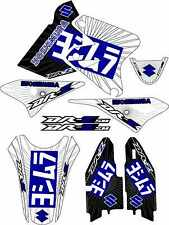 2013 DRZ400SM Exhaust Graphic Kit Drz400s drz 400sm Shroud Plastic Decals drz400