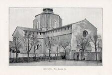 65 SAINT SAVIN EGLISE IMAGE 1903